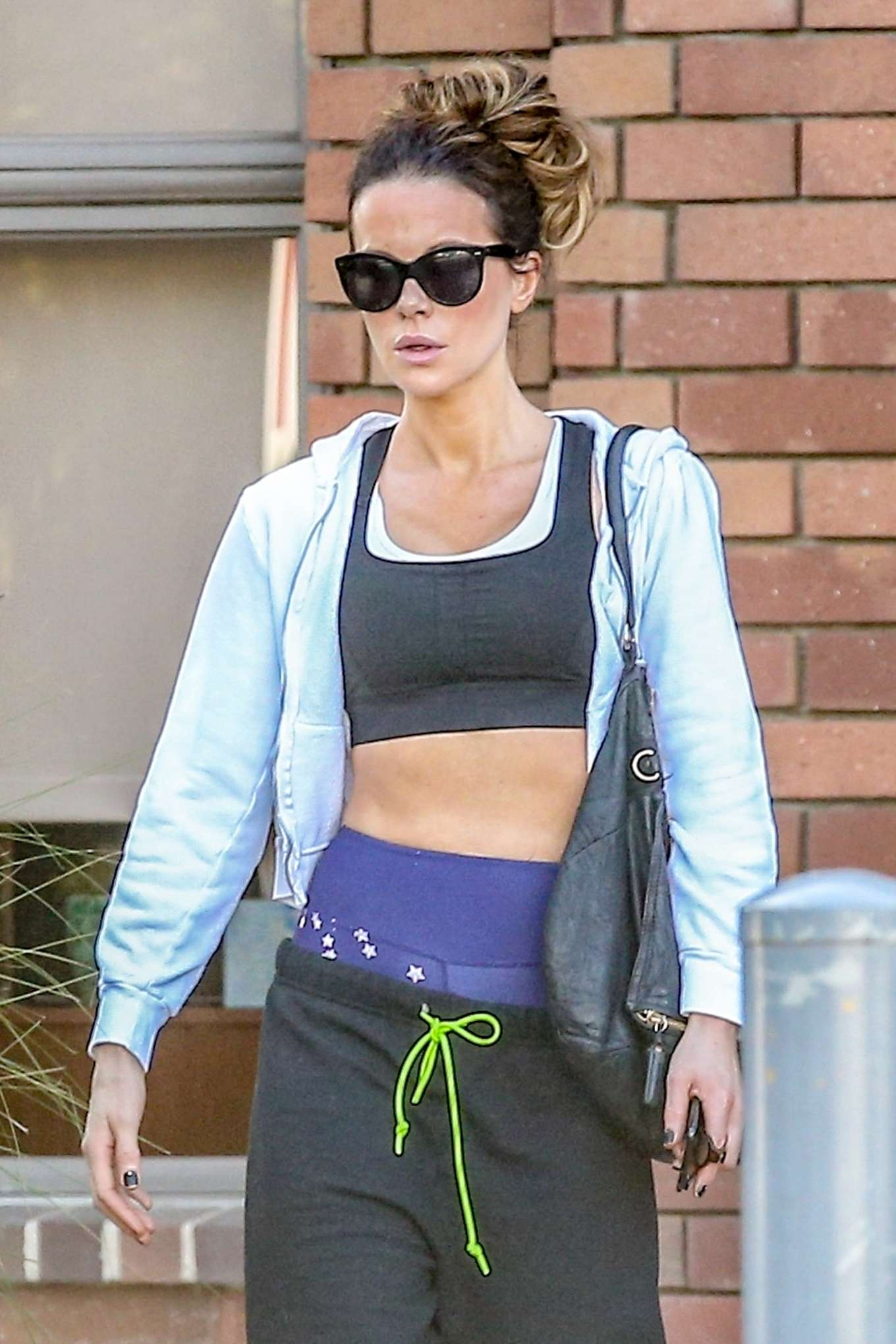 Kate Beckinsale - Heads to dance class in Pacific Palisades
