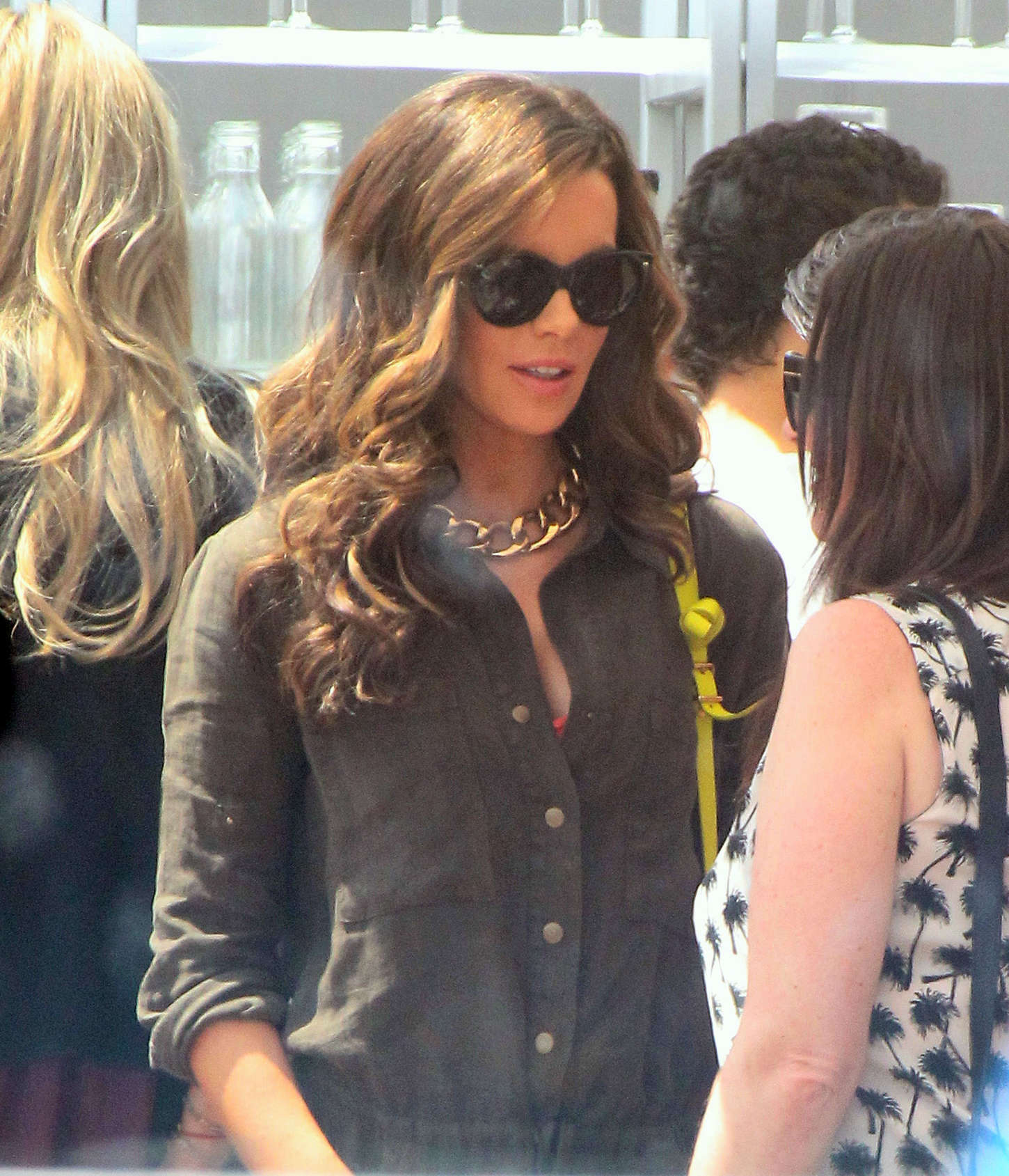 Kate Beckinsale 2015 : Kate Beckinsale: Joel Silvers Memorial day Party -10