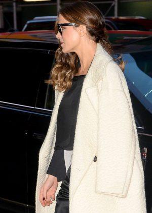 Kate Beckinsale - Leaves For Good Morning America in New York City