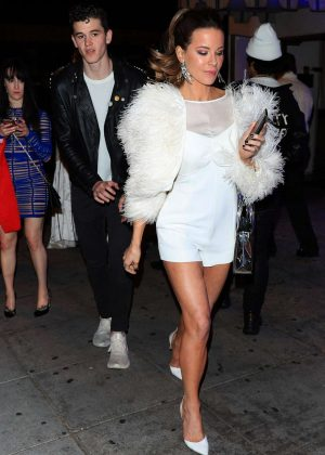 Kate Beckinsale - Leaving Drake's NYE Party in West Hollywood