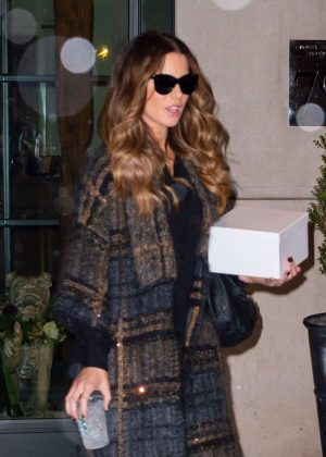 Kate Beckinsale - Leaving her hotel in New York City