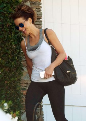 Kate Beckinsale - Leaving the gym in Los Angeles