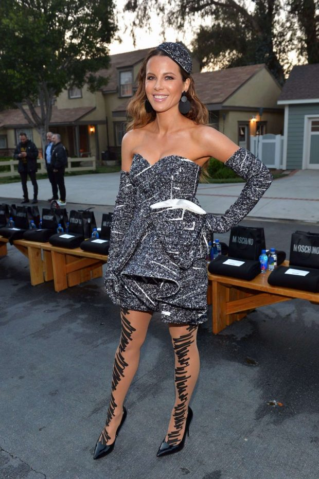 Kate Beckinsale - Moschino Spring Summer 2019 in Universal City