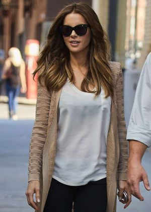 Kate Beckinsale on set in New York City
