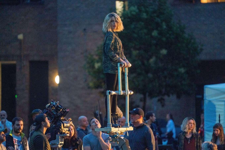 Kate Beckinsale 2019 : Kate Beckinsale – On the set of Jolt in London-01