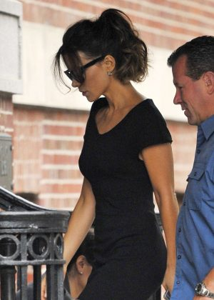Kate Beckinsale on the set of 'Only Living Boy In New York' at the Jane Hotel in New York City
