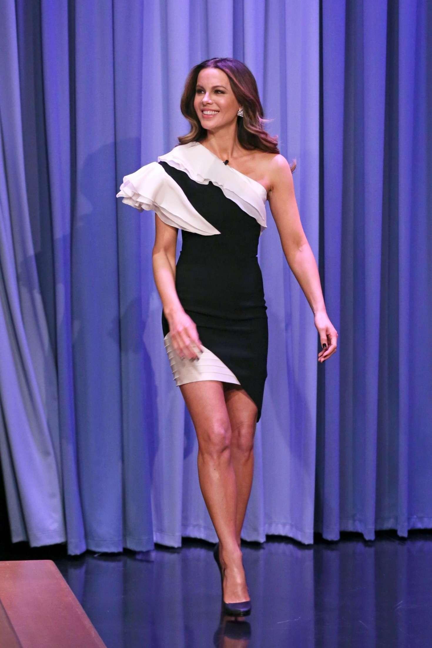 Kate Beckinsale 2019 : Kate Beckinsale: On The Tonight Show Starring Jimmy Fallon -02