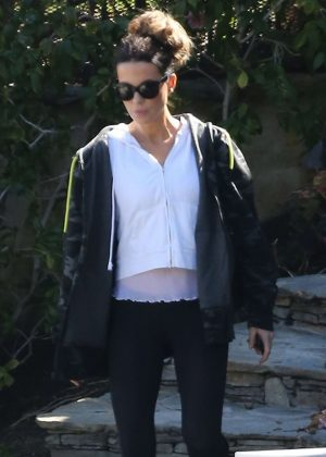 Kate Beckinsale - Out and about in LA