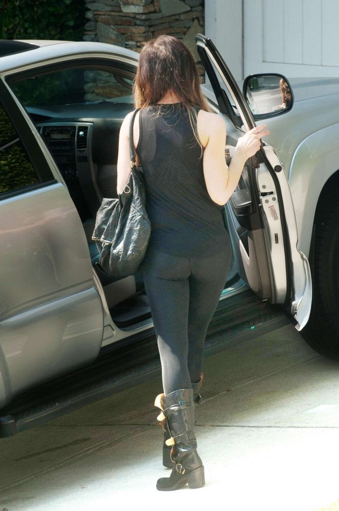 Kate Beckinsale - out in LA