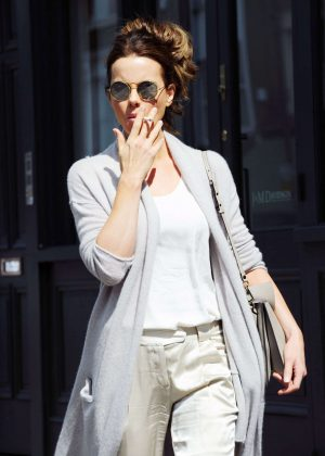 Kate Beckinsale out in London -16