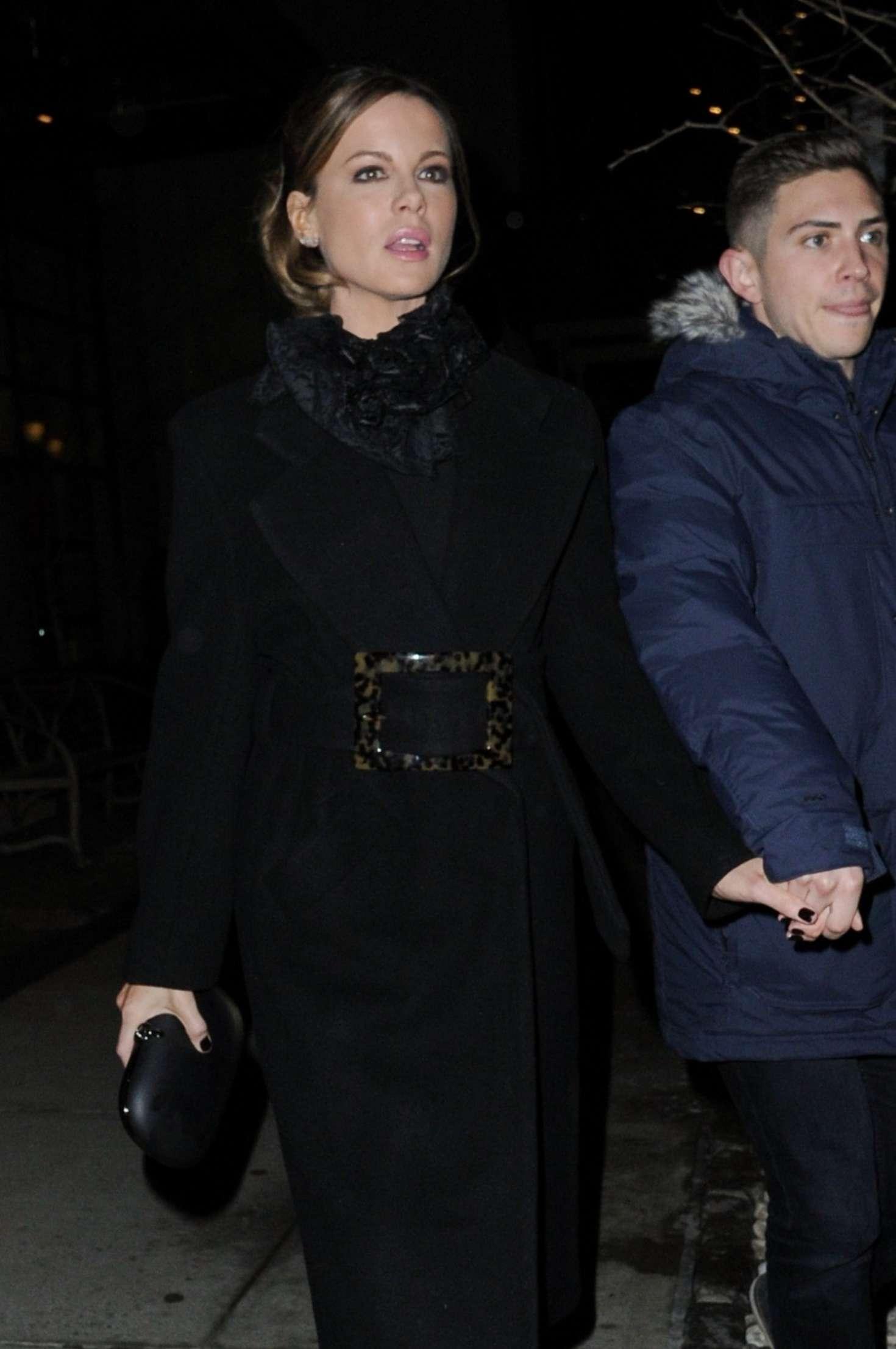 Kate Beckinsale - Outside DU JOUR Celebrates Cover star Kate Beckinsale in NYC