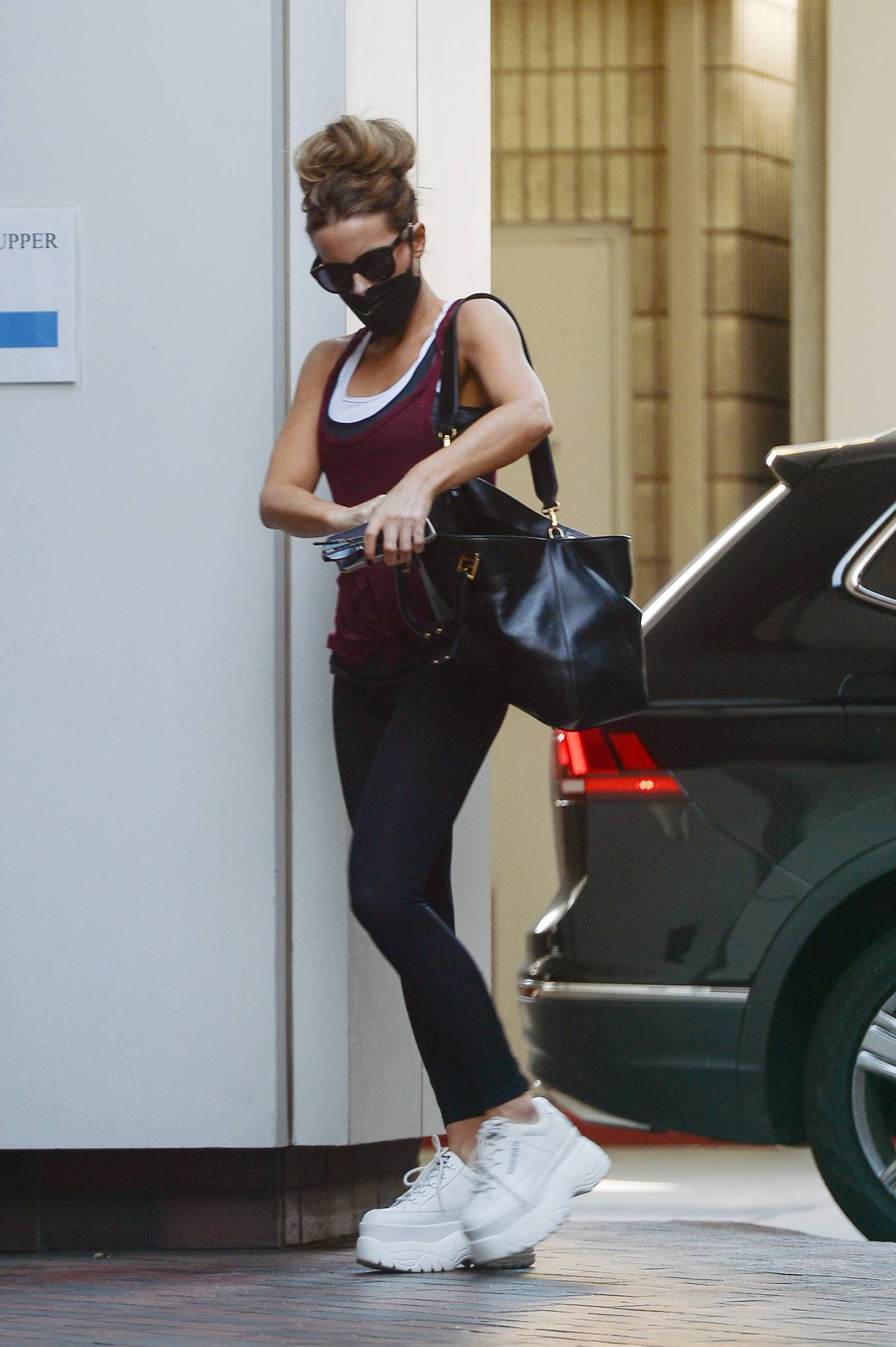 Kate Beckinsale 2021 : Kate Beckinsale – Seen at the gym in Los Angeles-08