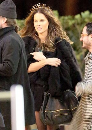 Kate Beckinsale - Spotted out with friends in Westwood