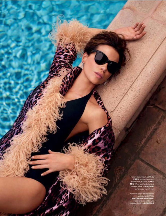 Kate Beckinsale – Tatler Russia Magazine (January 2019) adds