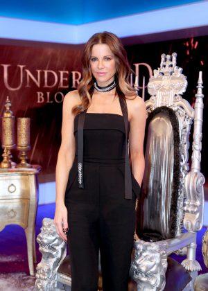 Kate Beckinsale - 'Underworld: Blood Wars' on US latino morning show Un Nuevo Dia in Miami