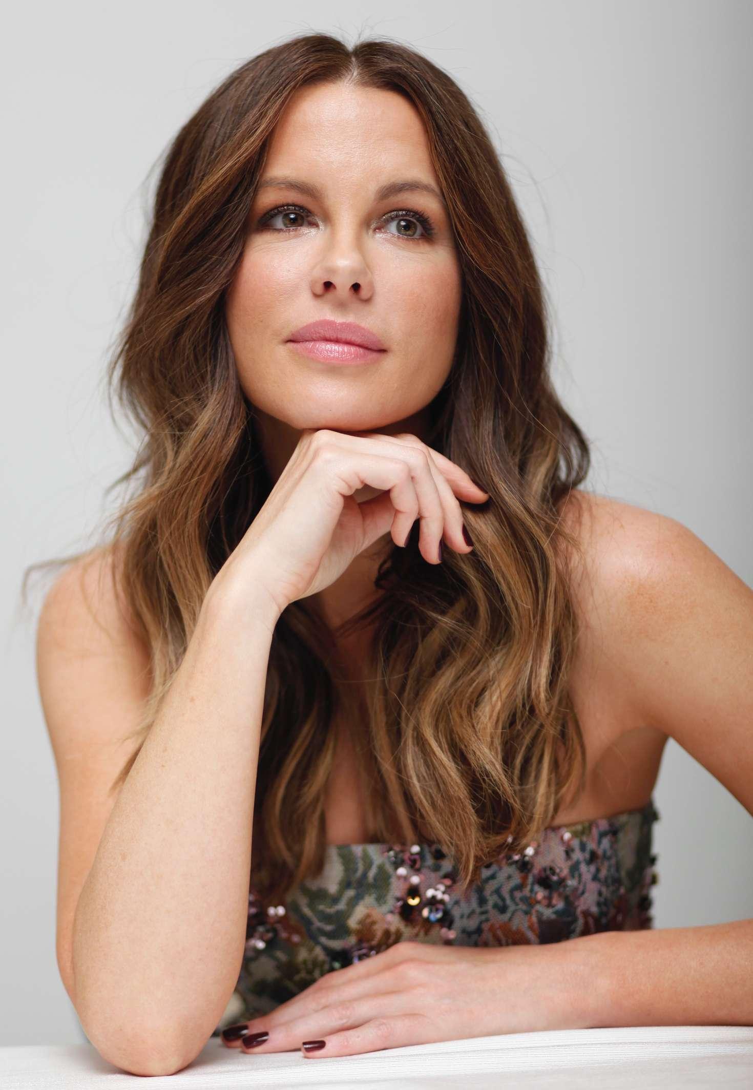 Kate Beckinsale - 'Underworld: Blood Wars' Press Conference in Beverly Hills