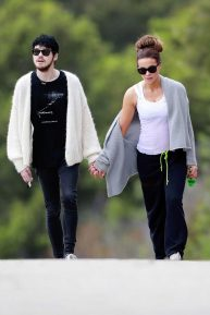 Kate Beckinsale walks hand in hand with 22 year old boyfriend