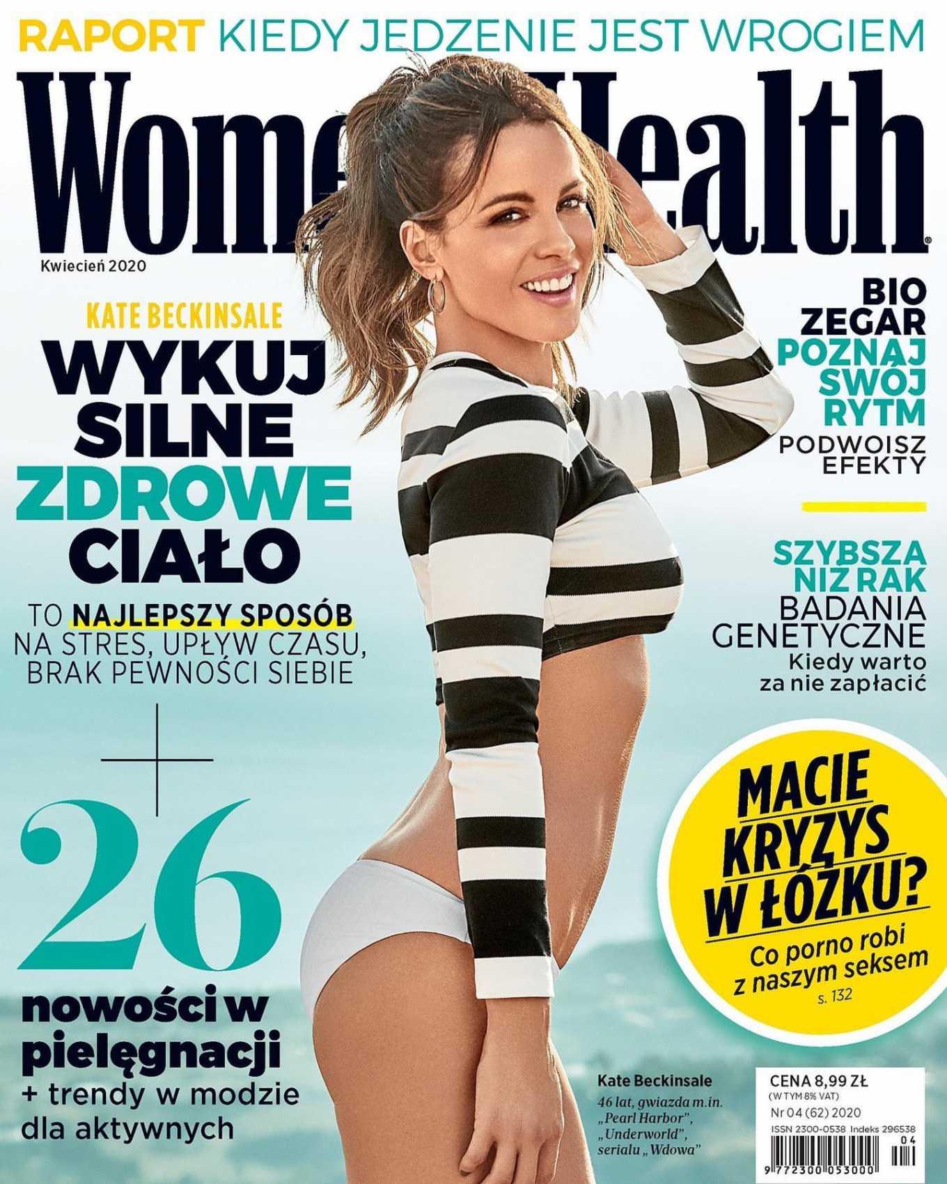 Kate Beckinsale - Women's Health Poland Magazine (April 2020)