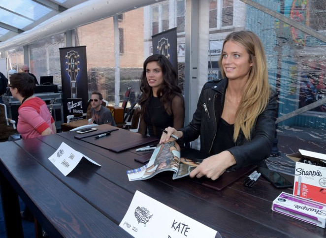 Kate Bock - 2015 Sports Illustrated Swimsuit's 'Swimville' Takes Over Nashville! in Nashville