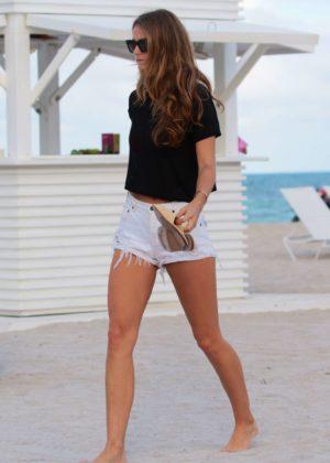 Kate Bock Bikini candids at the beach in Miami Beach Pic 30 of 35
