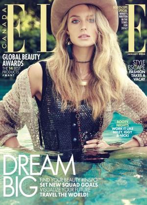 Kate Bock - Elle Canada Magazine (January 2016)
