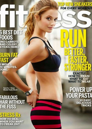 Kate Bock - Fitness Cover Magazine (April 2015)