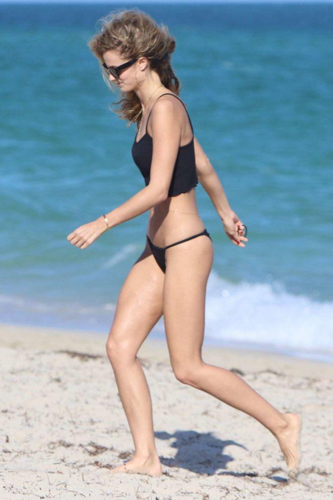 Kate Bock Bikini candids at the beach in Miami Beach Pic 19 of 35