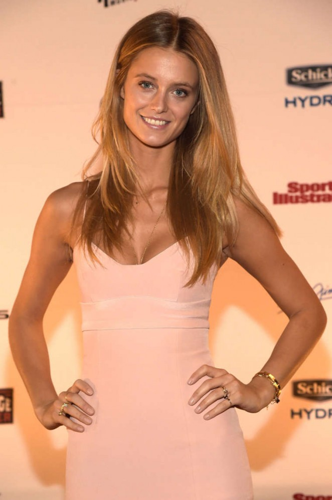 Kate Bock - SI 2015 Swimsuit Takes Over the Schermerhorn Symphony Center in Nashville