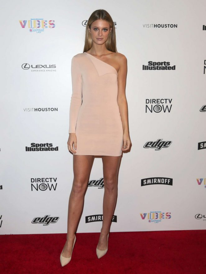 Kate Bock - VIBES By Sports Illustrated Swimsuit 2017 Launch in Houston