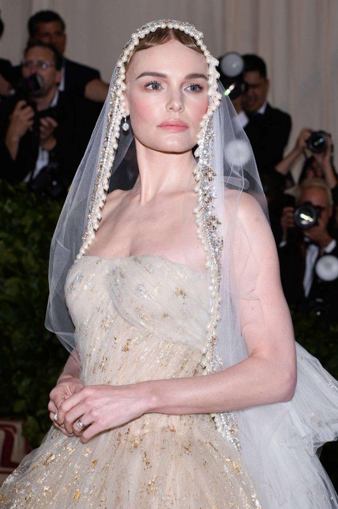 Kate Bosworth - 2018 MET Gala in NYC
