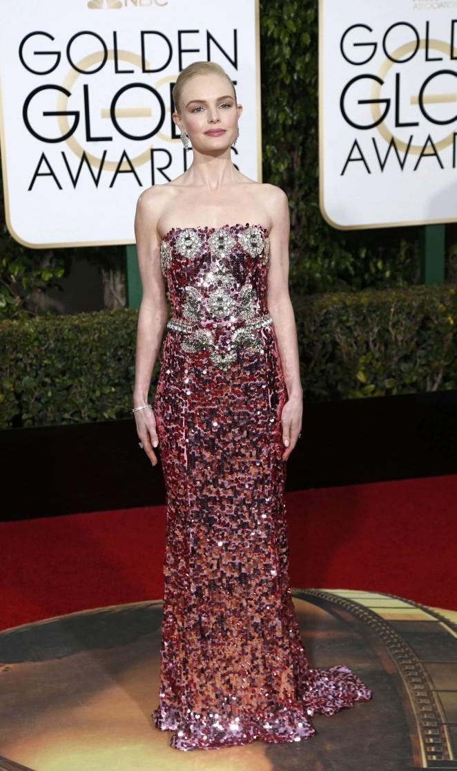 Kate Bosworth - 2016 Golden Globe Awards in Beverly Hills