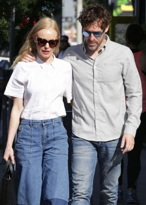 Kate Bosworth and husband Michael Polish Out in West Hollywood