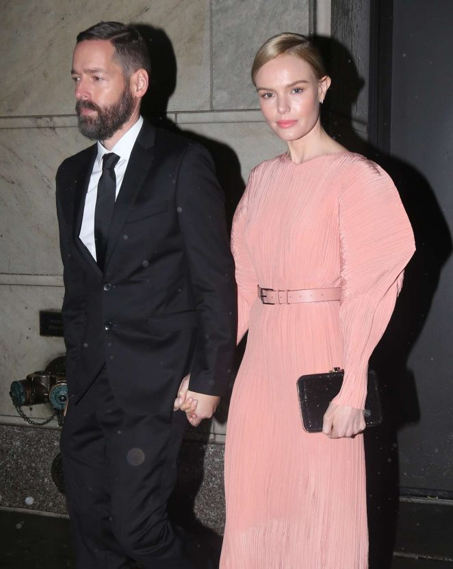 Kate Bosworth and Michael Polish out in New York