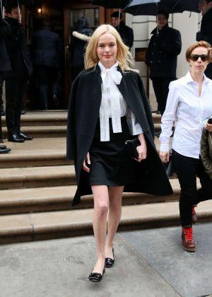 Kate Bosworth - Arrives to Caroline Herrera SS17 Show in New York City