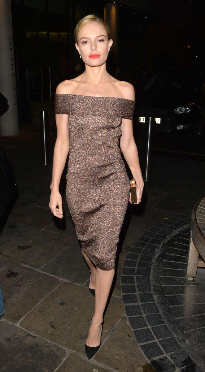Kate Bosworth at BBC studios in London