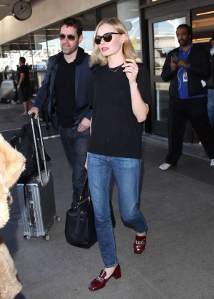 Kate Bosworth at LAX airport in LA