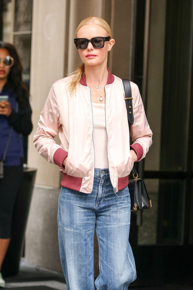 Kate Bosworth at The Mark Hotel in New York City