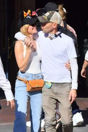 Kate Bosworth celebrates her husband Michael Polish's birthday at Disneyland