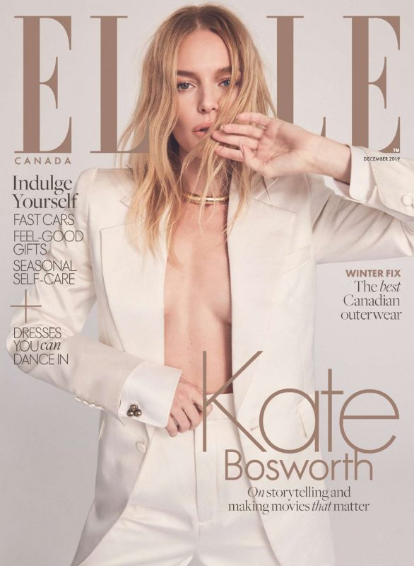 Kate Bosworth - Elle Canada - December 2019