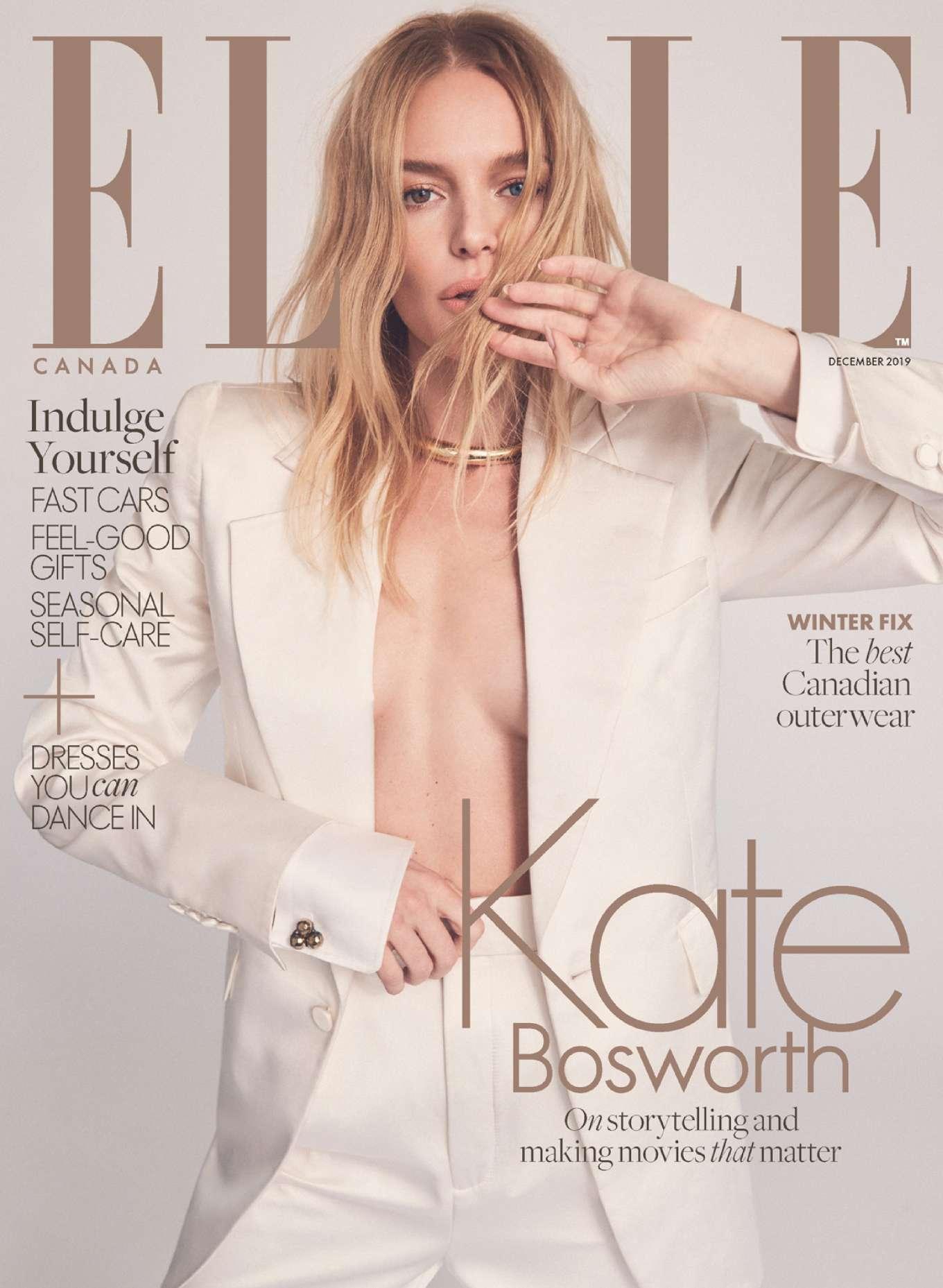 Kate Bosworth - Elle Canada - December 2019