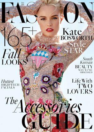 Kate Bosworth - Fashion Magazine (October 2016)