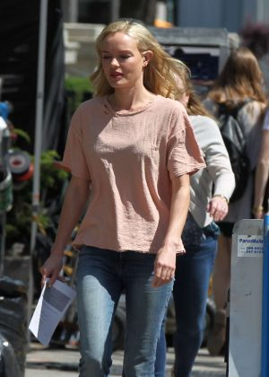 Kate Bosworth - Filming 'Art of More' in Montreal