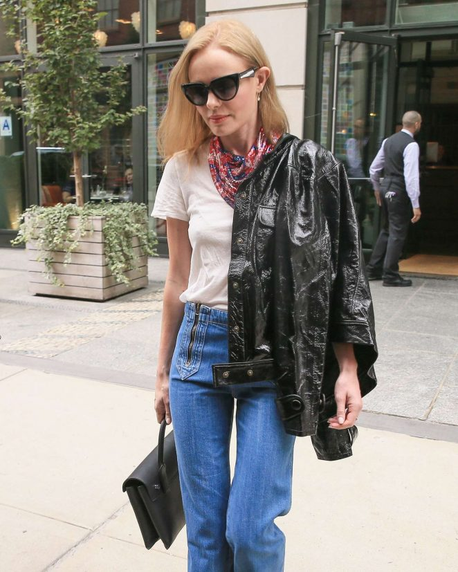 Kate Bosworth in Jeans out in New York City