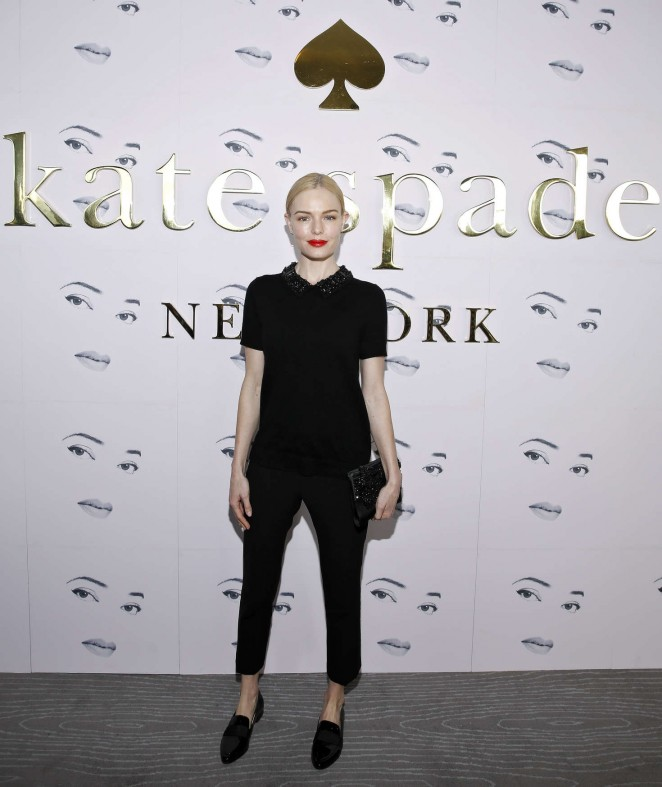 Kate Bosworth - Kate Spade Fashion Show 2016 in New York