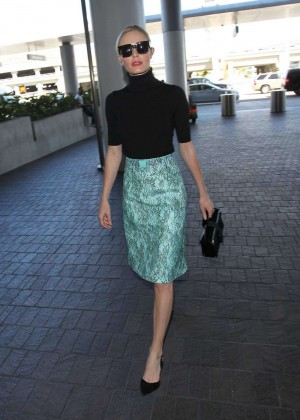 Kate Bosworth - LAX Airport in LA