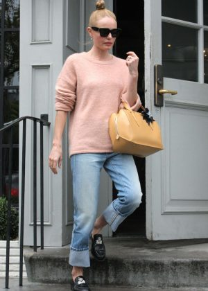 Kate Bosworth - Leaves Gracias Madre after lunch in West Hollywood
