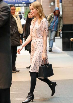 Kate Bosworth - Leaves Her Hotel in New York
