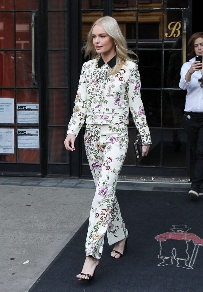 Kate Bosworth - Leaves Her Hotel in NYC