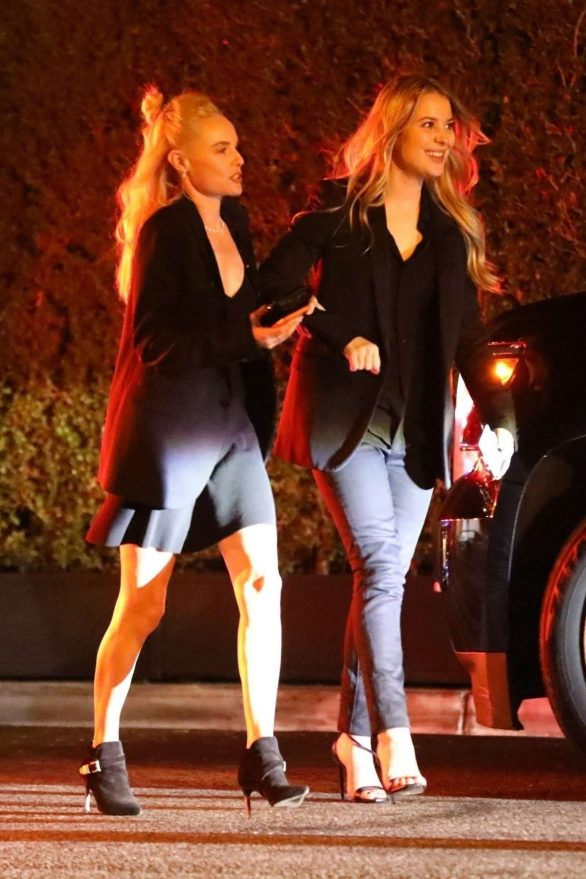 Kate Bosworth - Leaving a 2020 Pre Oscar party at the Vicente Bungalows
