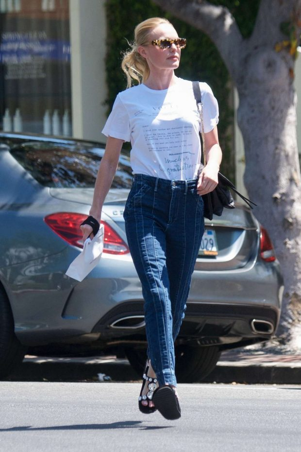 Kate Bosworth - Leaving Violet Grey Cosmetics in West Hollywood